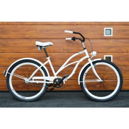 BEACH CRUISER BCR-26-1-WH